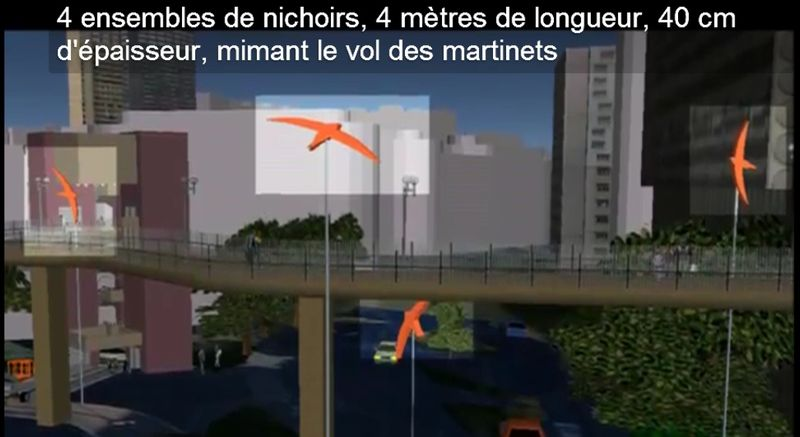 Nichoirs La Défense