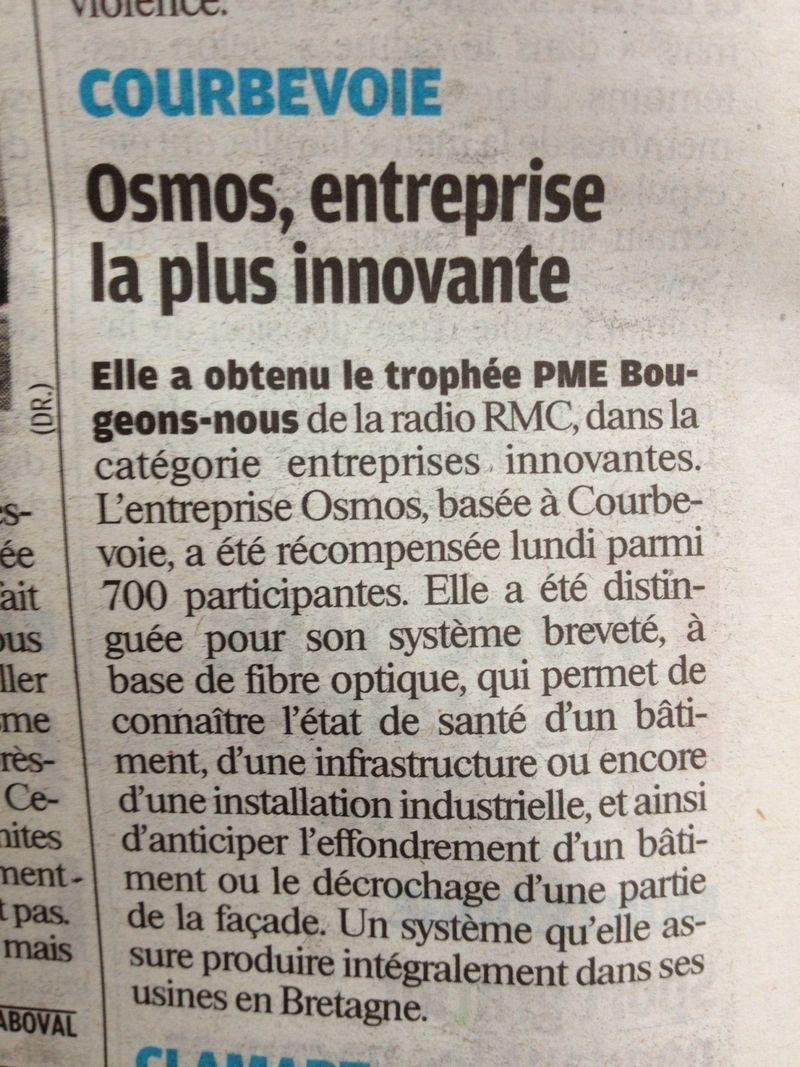Le Parisien - OSMOS