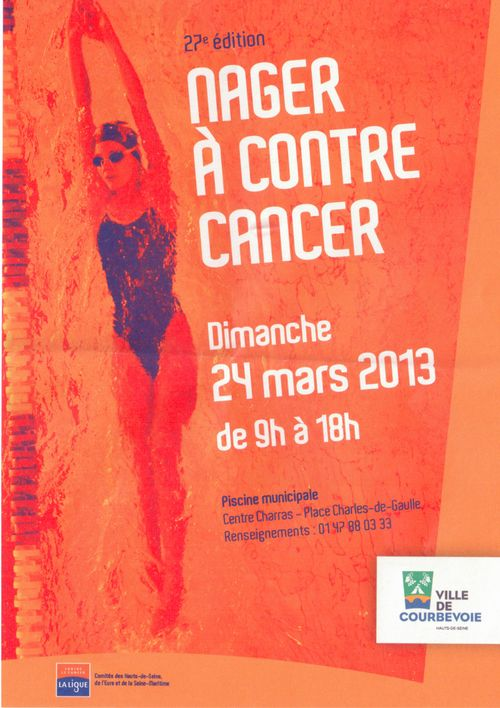 Nager contre cancer